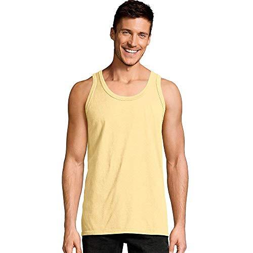 Hanes Men s ComfortWash Garment Dyed Sleeveless Tank Top