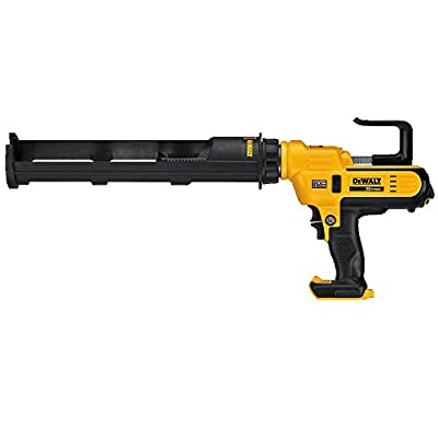 DEWALT 20V MAX Cordless Caulking Gun, 29oz, Tool Only (DCE570B) by Dewalt