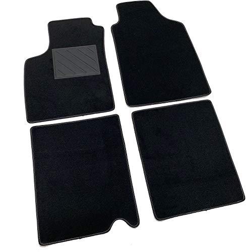 Tapis de sol pour Fiat Panda II 169 2003-2011 sur mesure avec talonnette en PVC