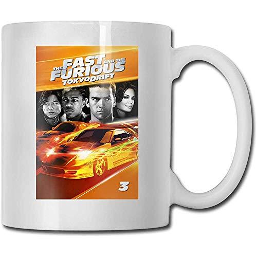 Tazas The Fast And The Furious Tokyo Drift Coffee Mug Vasos Tazas Sexy Blanco