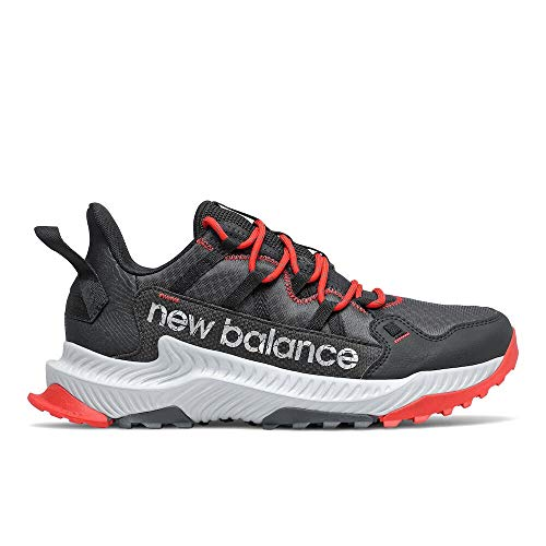 New Balance Men's DynaSoft Shando V1 Trail Running Shoe, Outerspace/Black/Velocity Red, 8