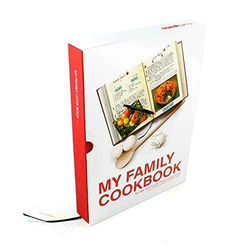 Suck UK My Family Recipe Book and Cooking Journal