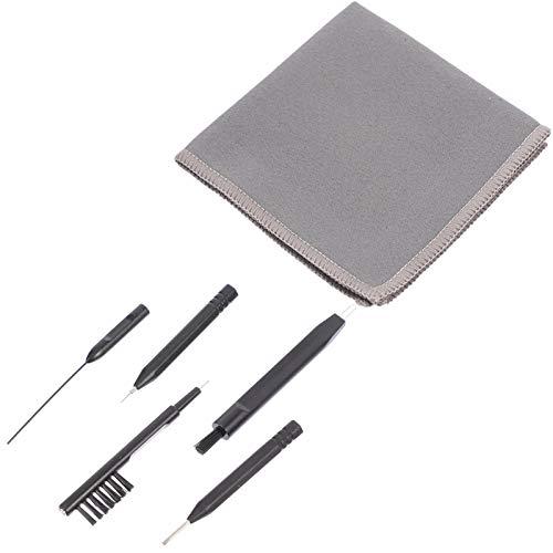 ULTECHNOVO Reinigungswerkzeuge für Hörgeräte - Reinigungsbürste für Ohrhörer - Keine Kratzer Und Super Sauberes Universalreinigungsset Wachsreinigungsset (6 Stück)
