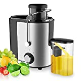 Juicer, Bagotte Juicer Machine Fruit and Vegetable Juicer Compact Juicer Extractor Wide Mouth...