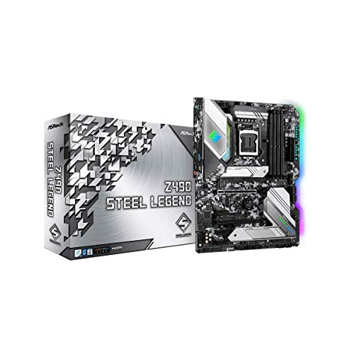 ASRock Intel 第10世代CPU(LGA1200)対応 Z490 チップセット搭載 ATXマザーボード 【国内正規代理店品】 Z490 Steel Legend