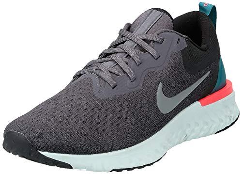 Nike Odyssey React, Scarpe da Ginnastica Basse Uomo, Multicolore (Thunder Grey/Gunsmoke/Black/Geode Teal 001), 43 EU