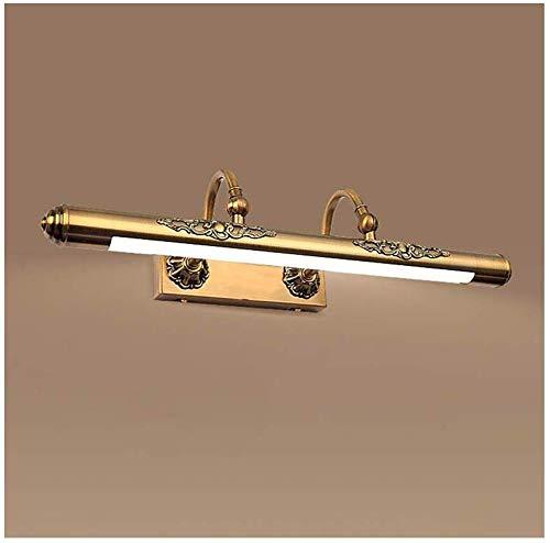 Carl Artbay Shuai Beautiful lamp/ * Europees klassiek brons LED instelbare hoek badkamer wandlamp (grootte: 60 cm)