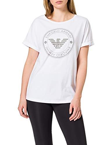 Emporio Armani 164340 1p255 00010 Camiseta, Blanco, S para Mujer