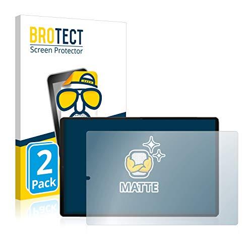BROTECT 2X Entspiegelungs-Schutzfolie kompatibel mit Lenovo Tab M10 FHD Plus (im Querformat) Bildschirmschutz-Folie Matt, Anti-Reflex, Anti-Fingerprint