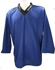 Instrike Camiseta de entrenamiento profesional para hockey sobre hielo y hockey en línea, camiseta de manga corta para niños y adultos con logotipo discreto para ser estampado adicional.