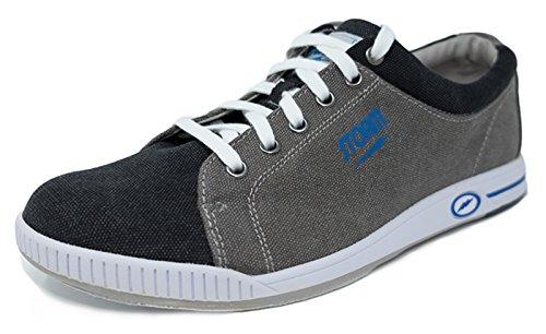 Storm Gust grau/schwarz/blau Bowlingschuhe für Herren und Damen in Größe 39-46 für Rechts- und Linkshänder Größe 44,5