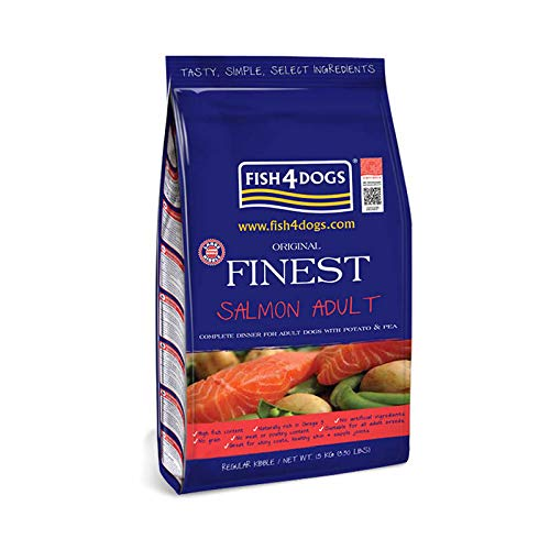 Fish4Dogs Fish4Dogs Canine Adult Small Salmon 1,5Kg 1500 g