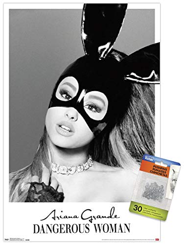 Trends International Ariana Grande - Dangerous Wall Poster with Push Pins