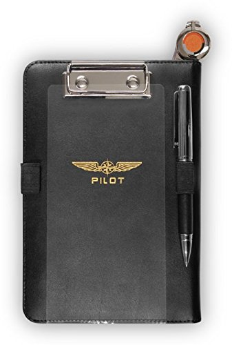Design4Pilots - Cosciale 'i-Pilot mini' / Pilot Kneeboard 'i-Pilot mini' for Apple iPad mini, black