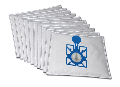 10 sacchetti premium per aspirapolvere compatibili con Clatronic CTC BS 1222, 1250, 1264, 1272, 1227