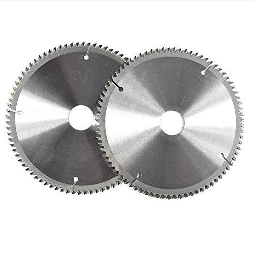 Cuchillas Concord – Hoja de sierra circular de corte de metal no ferroso, 80T, 185 mm x 37 mm, apta para cortar acero, aluminio, hierro y metales no ferrosos, madera y plásticos