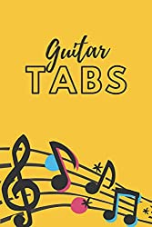 simple guitar tabs notebook: A present for musicians