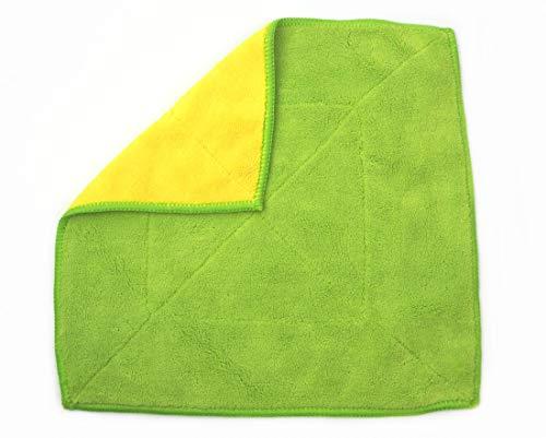 Kochblume Microfasertuch Putztuch 30 x 30 cm 20101 (Lime/gelb), 30x30