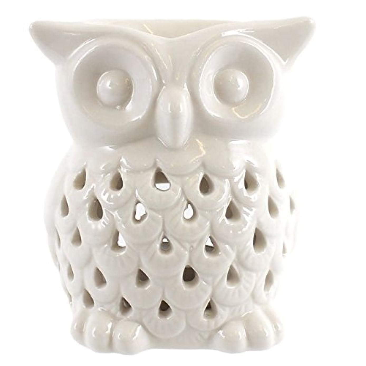 Something Different Wholesale White Owl Oil Burner,white