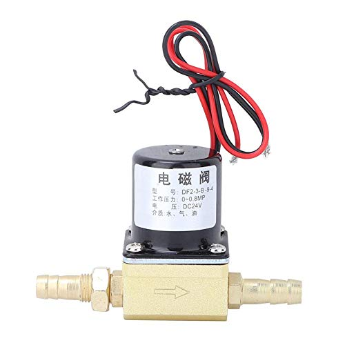 Elektrisches Magnetventil, 0~0.8Mpa Elektrisches Schweißgerät Magnetventil für Luft, Argon und C02 G1 / 8 '', AC220V 36V DC24V(AC220V)