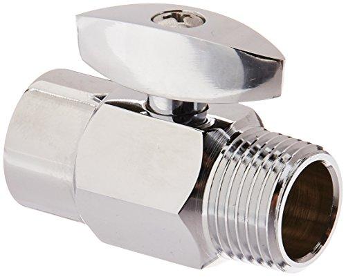 DANCO 샤워 볼륨 조절 차단 밸브 크롬 1.6 인치 1 팩 (89171)