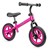 Xootz Balance Bike for Toddlers And Kids, Training Bicycle with Adjustable Seat And No Pedals, Pink