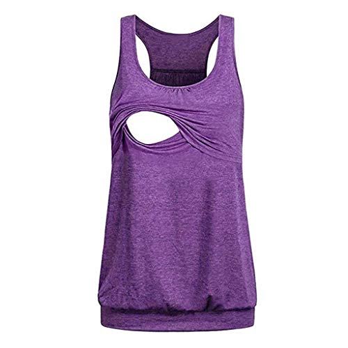 KYLEON Women Tops Sleeveless Sequin Pocket Graphic Funny Teens Cute Casual Summer Blouse Shirts Vest Tank Tops for Women