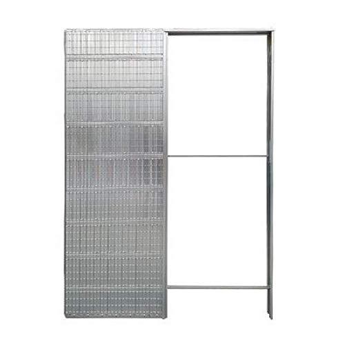 Doortech by Scrigno - Contraste para puertas correderas de una sola puerta de 125 mm de grosor - Medidas: 80 x 210 cm