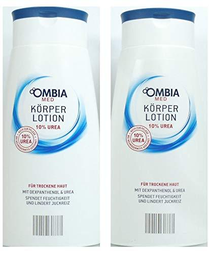 Ombia Körperlotion 10% Urea bei Neurodermitis geeignet 2er-Pack(2x300ml)