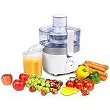 MEDION MD 17567 Entsafter (für Gemüse und Obst, 300 Watt, 0,4L, zwei Geschwindigkeitsstufen) weiß