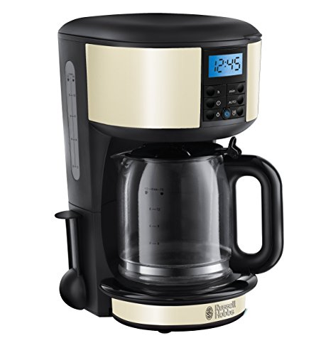 Russell Hobbs Legacy Coffee Maker 20683, 1.25 L - Cream