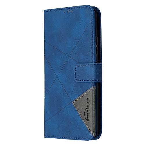 Hülle für Samsung Galaxy A42 5G Hülle Handyhülle [Standfunktion] [Kartenfach] [Magnetverschluss] Tasche Etui Schutzhülle lederhülle klapphülle für Samsung Galaxy A42 5G - JEBF040160 Blau