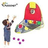 PUDDINGT Tragbare Ball Schießen Zelt Kinderzelt Outdoor Indoor Schießen Zelt Kind Faltbare Pop Up...
