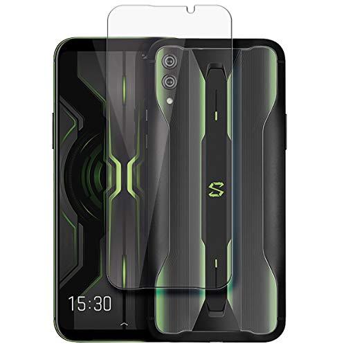 disGuard Schutzfolie für Xiaomi Black Shark 2 Pro [2 Stück] Kristall-Klar, Bildschirmschutzfolie, Glasfolie, Panzerglas-Folie, Bildschirmschutz, extrem Kratzfest, Schutz vor Kratzer, transparent