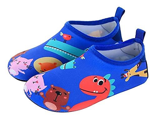 Zapatos de playa de dibujos animados de niños zapatos de buceo calcetines de snorkel calcetines de natación zapatos suaves descalzos antideslizantes calcetines antideslizantes Educación temprana zapat