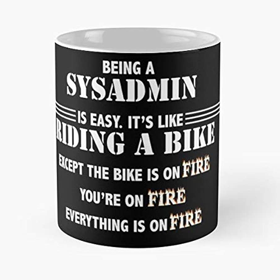 Administrator System Admin Sysadmin - Best Gift Ceramic Coffee Mugs
