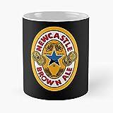 Brown Adelaide Travel Newcastle Ale Car Australia La Mejor Taza de café de cerámica de mármol Blanco de 11 oz