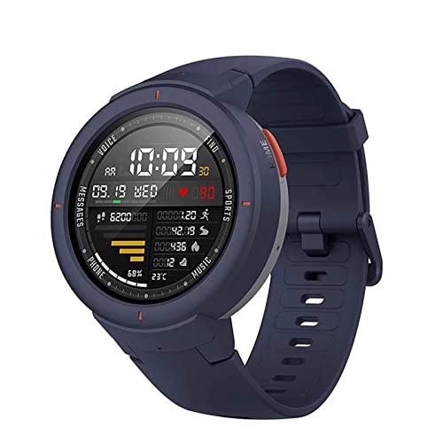 XYZK Reloj inteligente para hombre con pantalla AMOLED de 1:3, monitor de frecuencia cardíaca, monitor de fitness IP68 impermeable para mujer Android Ios (B)