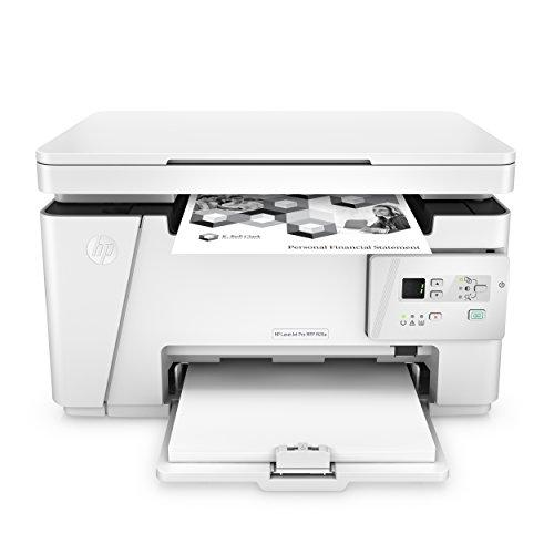 HP LaserJet Pro M26a Laser Multifunktionsdrucker (Schwarzweiß Drucker, Scanner, Kopierer, USB) weiß