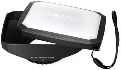 Mennon 52mm 16:9 Wide Angle Video Screw Lens Outlet ☆ Free Shipping 67% OFF of fixed price Hood Mount w Camera