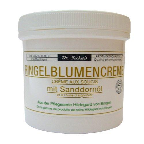 3 Dosen Tiegel Ringelblumencreme mit Sanddornöl von Dr. Sachers