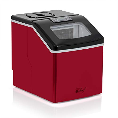 Deco Chef Countertop 40LB Ice Maker for Home, Office, Bars, and Parties, Makes Extra Large Cubes, 2.4 lb of Ice Every 15…