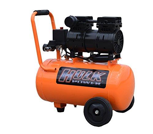 1 HP Quiet Portable Air Compressor, 120 PSI, 6 Gallon, HULK Silent Series, Model HP01P006SS by EMAX Compressor