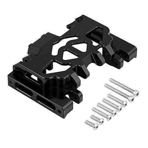 Alomejor Aluminiumlegierung Mittelgetriebe Chassis RC Upgrade Teil für Land Rover TRAXXAS TRX4 Defender(Schwarz)