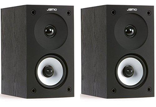 Jamo S 622 2-Wege Regal-Lautsprecher, Farbe: schwarz, Paar