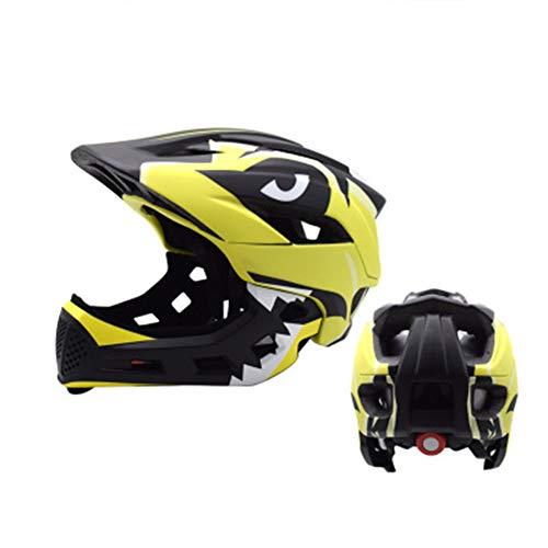 Kinderfiets helm, Kinderbalans auto helm rijden sport beschermende gear slide auto full-face helm een stuk vormen