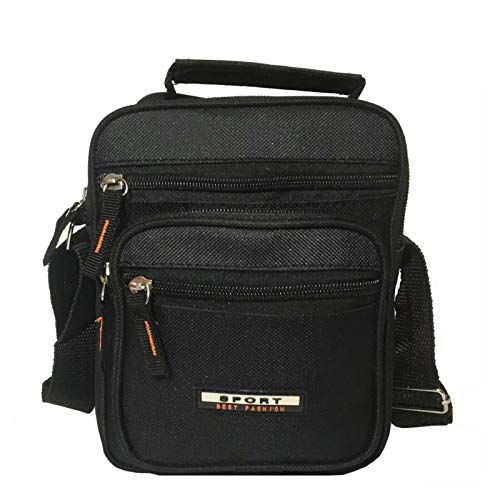 Unisex Multi Purpose Multi Pocket Mini Shoulder Organizer Handbag/Travel Utility Work Bag Practical Handy Men's Body Bag