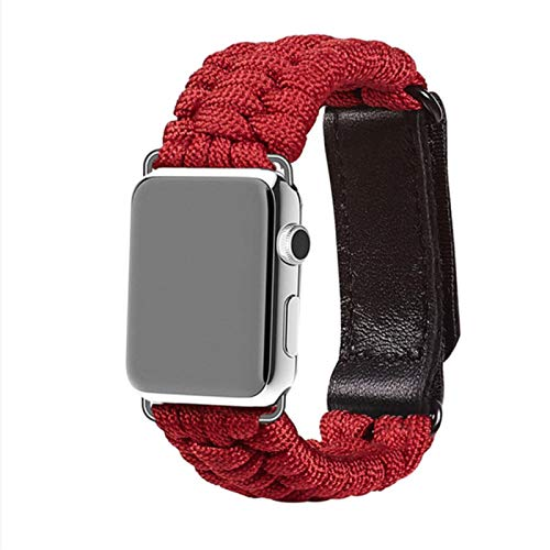 Correa de nailon para pulsera de banda de velcro Apple Watch Band