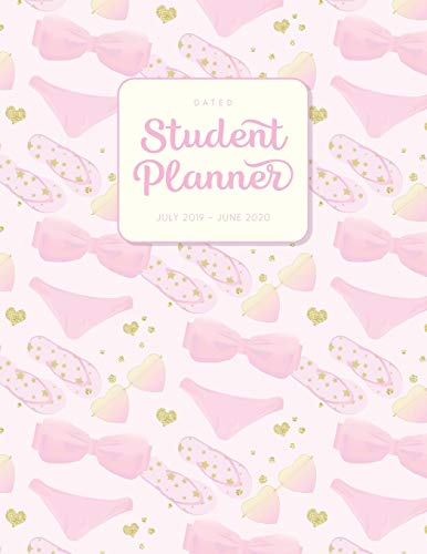 Dated Student Planner July 2019 - June 2020: High School or Middle School Planner - Summer Pool Party Bikini (Diary & Organizers for Academic Year 2019-2020 - Kawaii Aesthetic, Band 81)