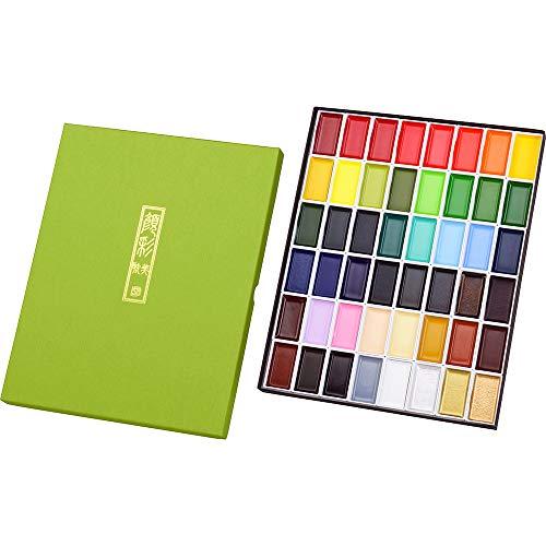Kuretake Juego de pintura, multicolor, grande